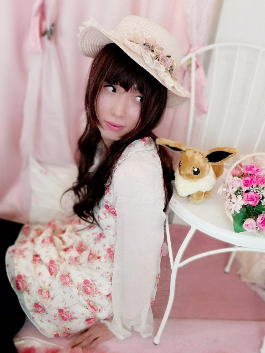 新大阪の女装サロン「ひめべや」のお客様の写真です。もりときさんのリズリサ写真です。