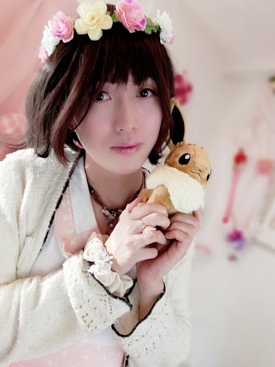 新大阪の女装サロン「ひめべや」のお客様の写真です。もりときさんのアップ写真です。