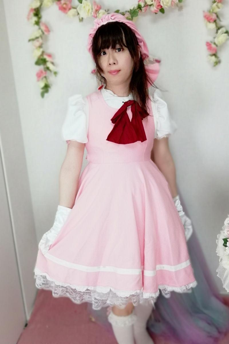 カードキャプターさくら。新大阪の女装サロン「ひめべや」の衣装です。「ひめべや」はあなたの「女の子になりたい」を叶えるサロンです。