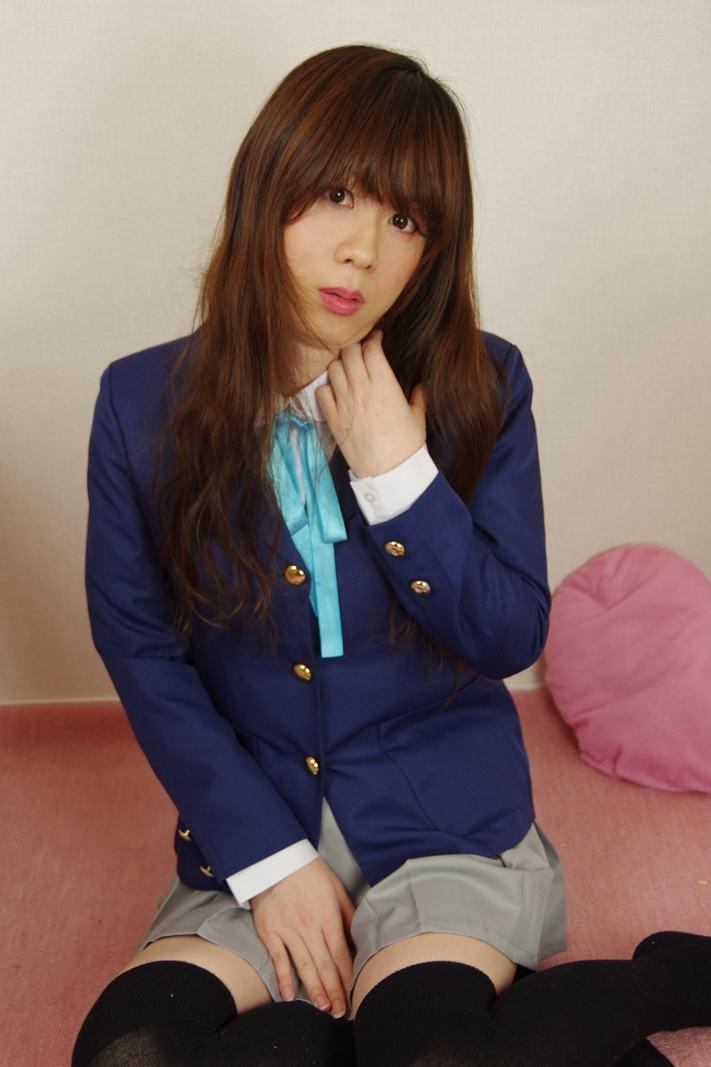 けいおん!。新大阪の女装サロン「ひめべや」の衣装です。「ひめべや」はあなたの「女の子になりたい」を叶えるサロンです。